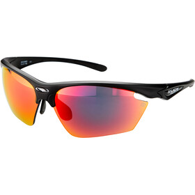Rudy Project Stratofly Okulary rowerowe, black matte - rp optics multilaser red